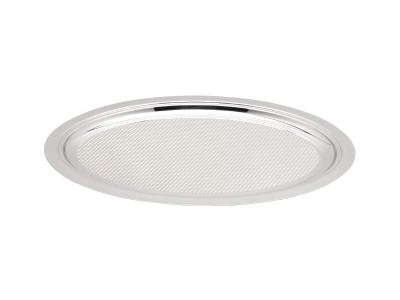 Oval Service Tray - 46.7cm - surface with pattern