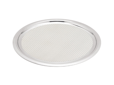 Round Service Tray - 35.5cm - surface with pattern